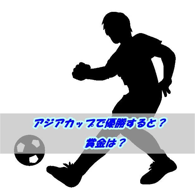 サッカーアジアカップ2015に優勝するとどうなる?賞金額はいくら?