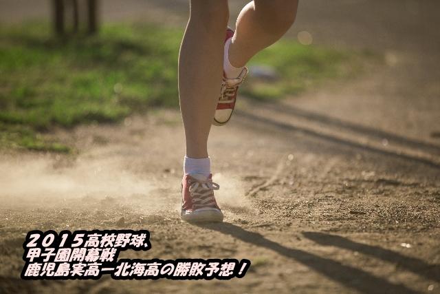 2015高校野球、甲子園開幕戦鹿児島実高ー北海高の勝敗予想!
