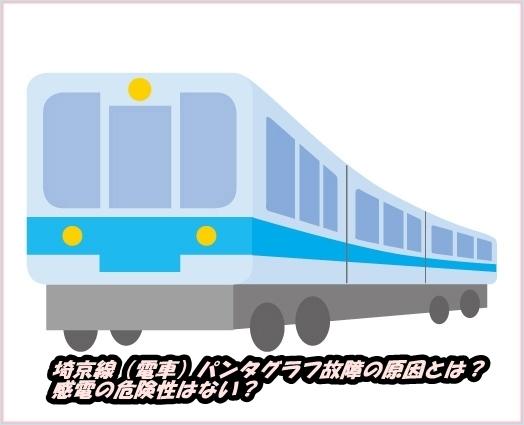 埼京線(電車)パンタグラフ故障の原因とは?感電の危険性はない?